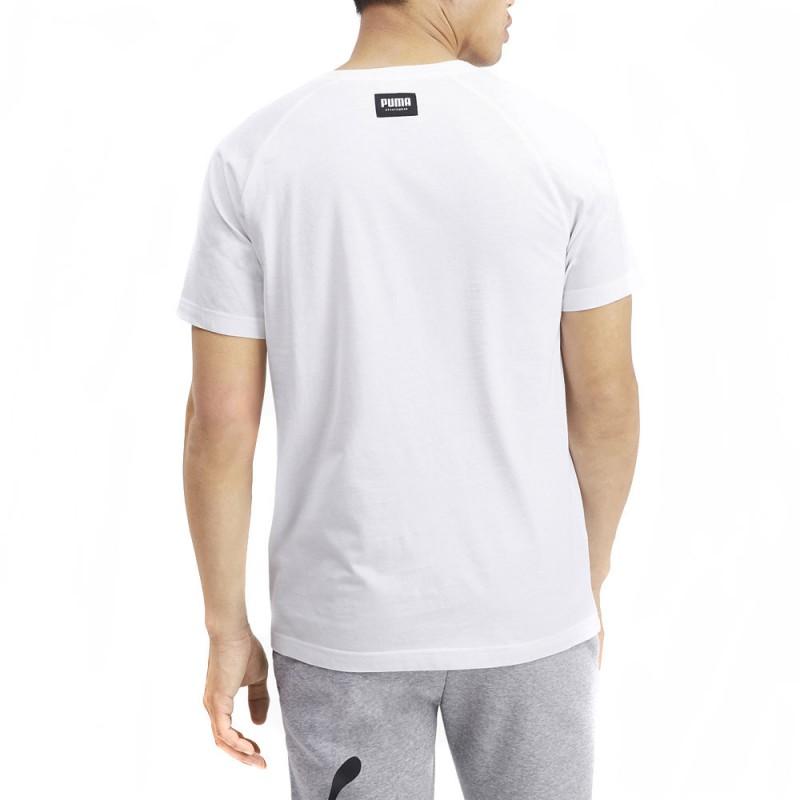 T-shirt blanc homme Puma Athletics pas cher