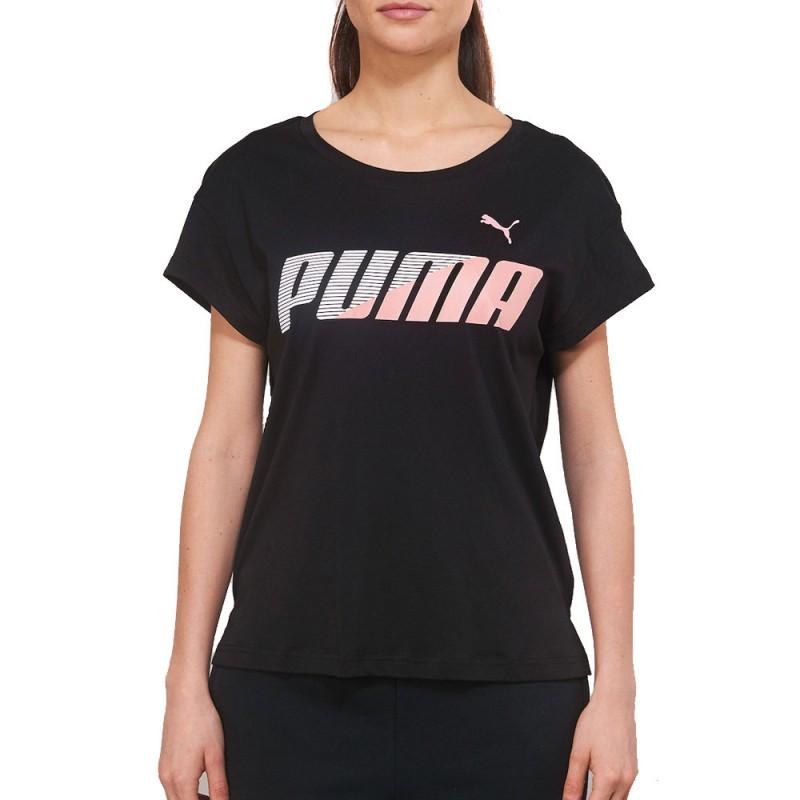 T shirt noir femme Puma Modern Sport pas cher | Espace des Marques