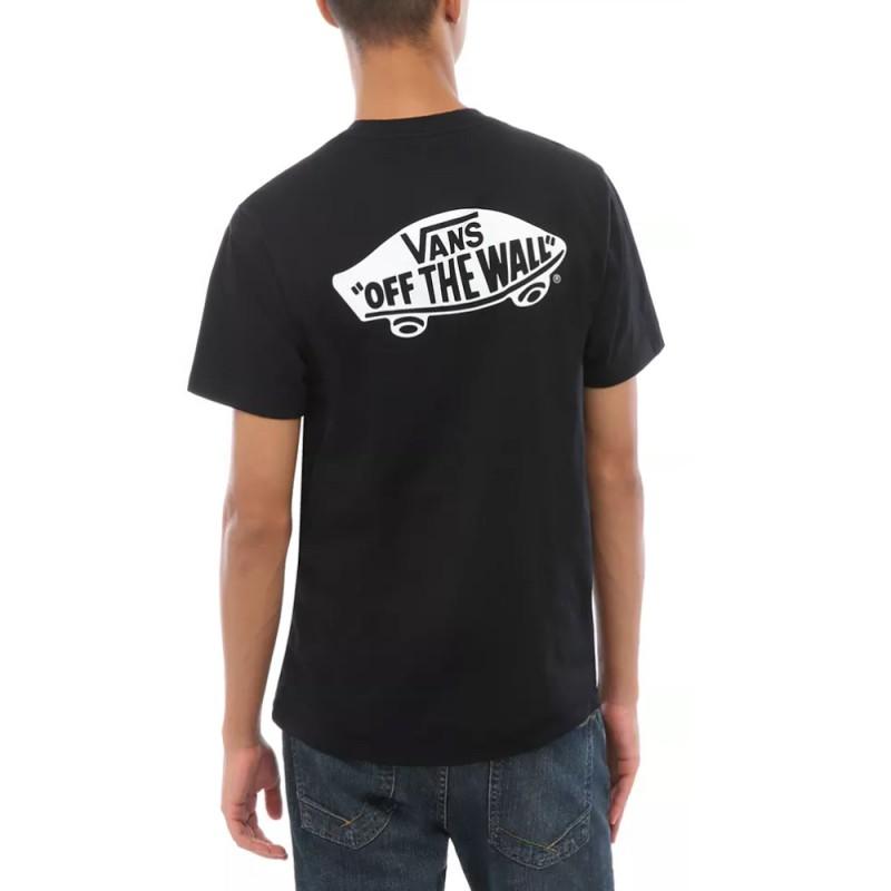 t shirt vans noir