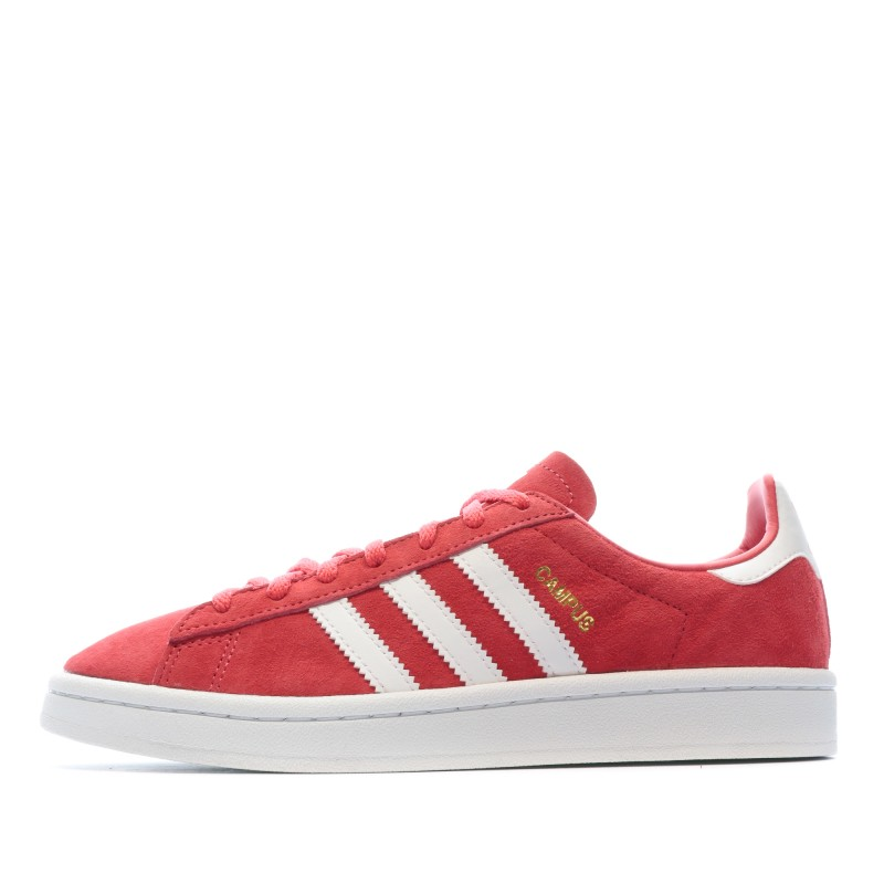 chaussure femme adidas rouge