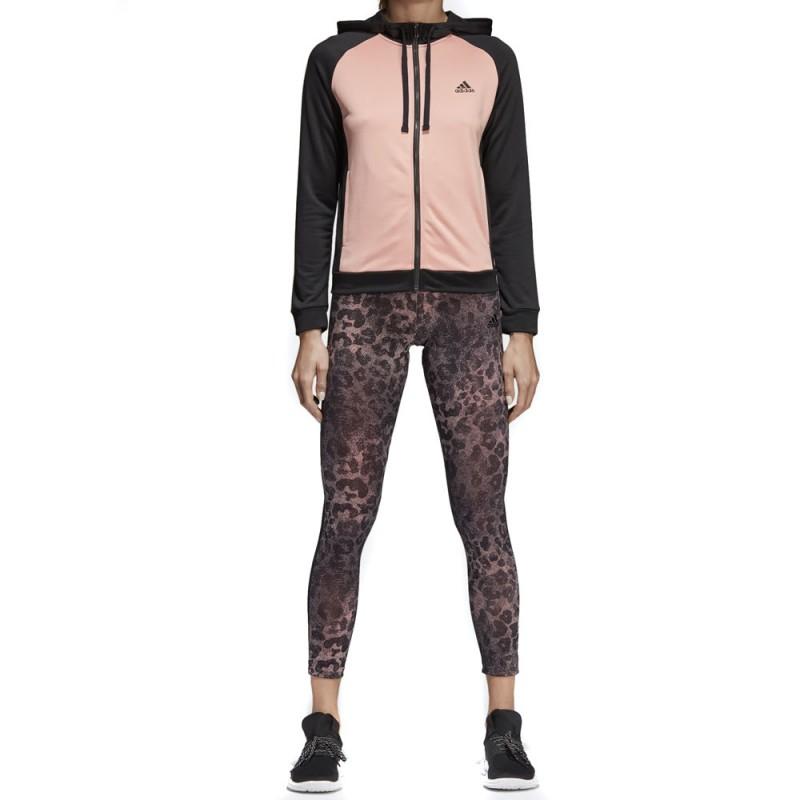 Acheter Survêtement legging noir/rose Adidas | Espace des Marques