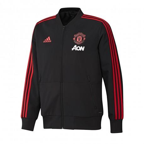 Veste de présentation Manchester United Adidas | Espace des Marques
