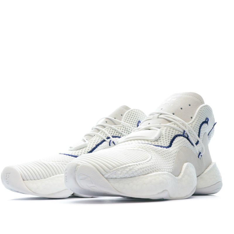 Sneakers blanc homme Adidas Crazy BYW