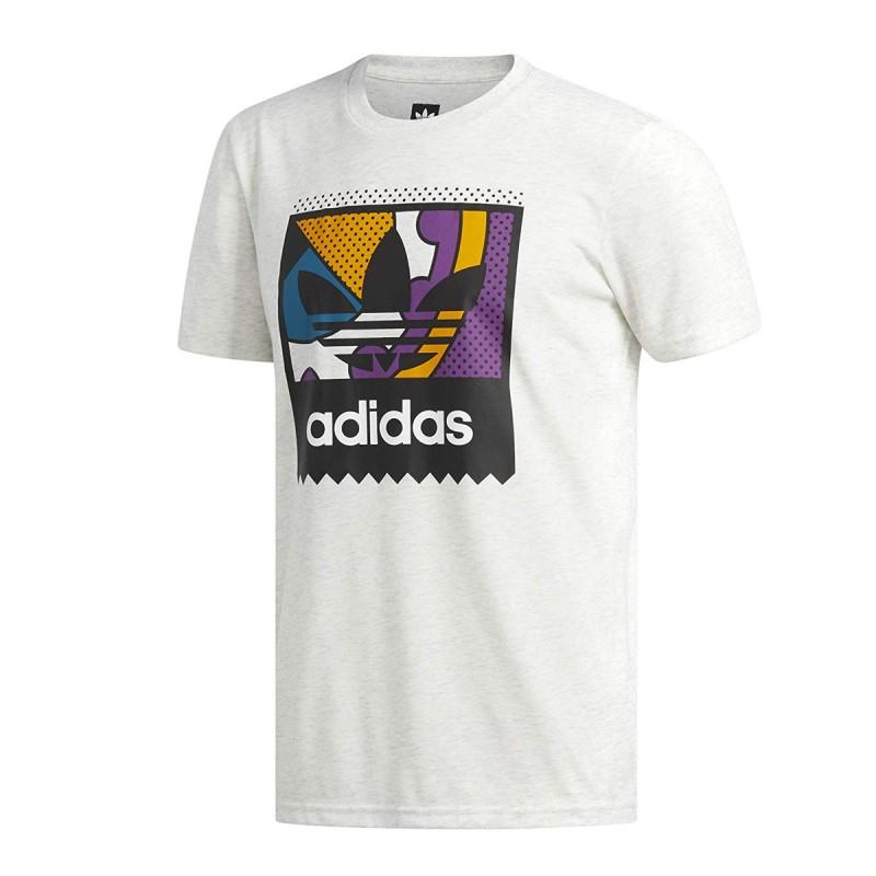 T shirt blanc homme Adidas Cog pas cher | Espace des Marques