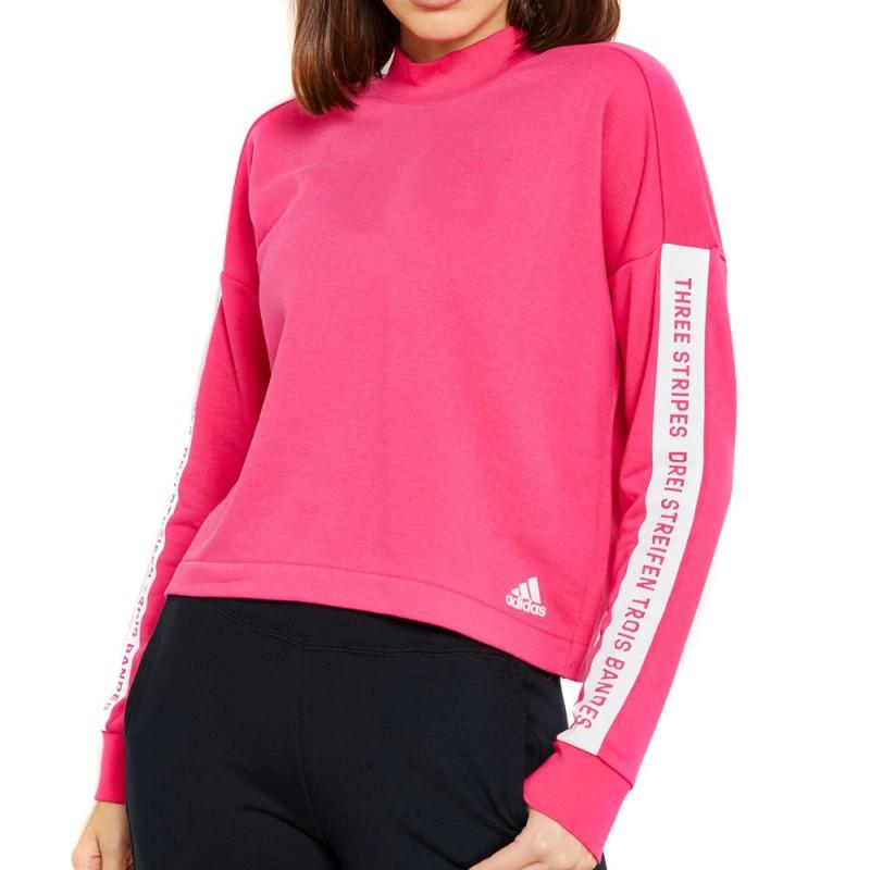 adidas sweat femme rose