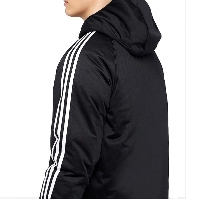 Manteau réversible noir homme Adidas SST Down | Espace des Marques