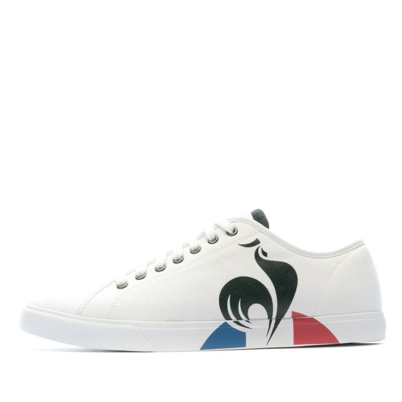 Achats baskets blanches homme Le Coq Sportif pas cher