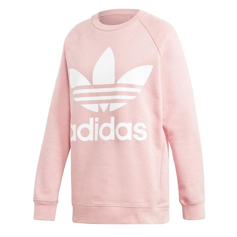 Achat Sweat oversized rose femme Adidas pas cher | Espace des