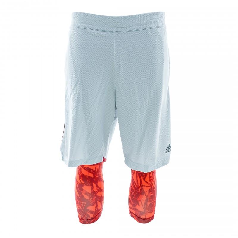 Achat Short 2 en 1 homme Adidas Basketball Espace des Espace des