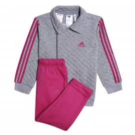 Ensemble gris bébéfille Adidas Superstar pas cher | Espace