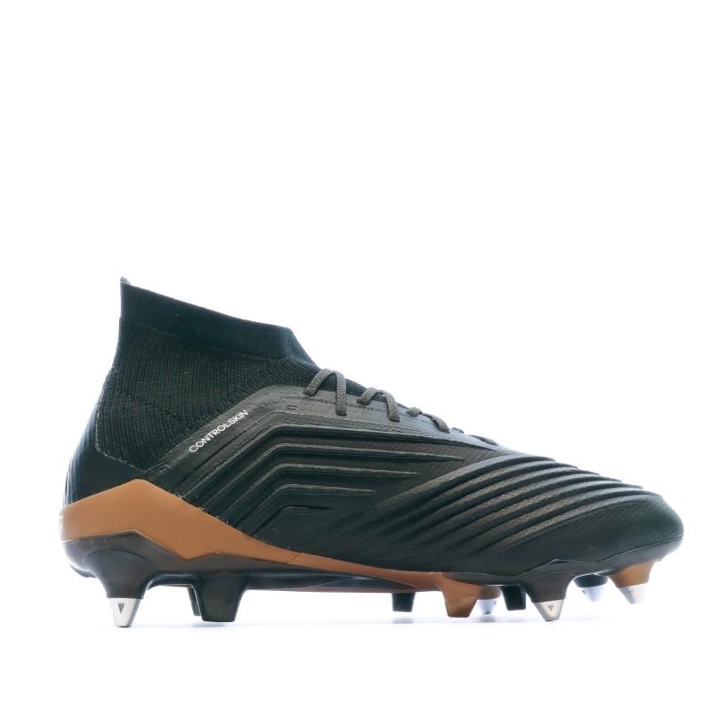 Adidas Predator 18.1 SG Chaussures de foot noir | Espace des Marques
