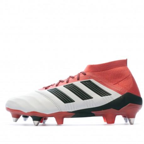 Predator 18.1 SG Leather Chaussures Football blanc homme Adidas