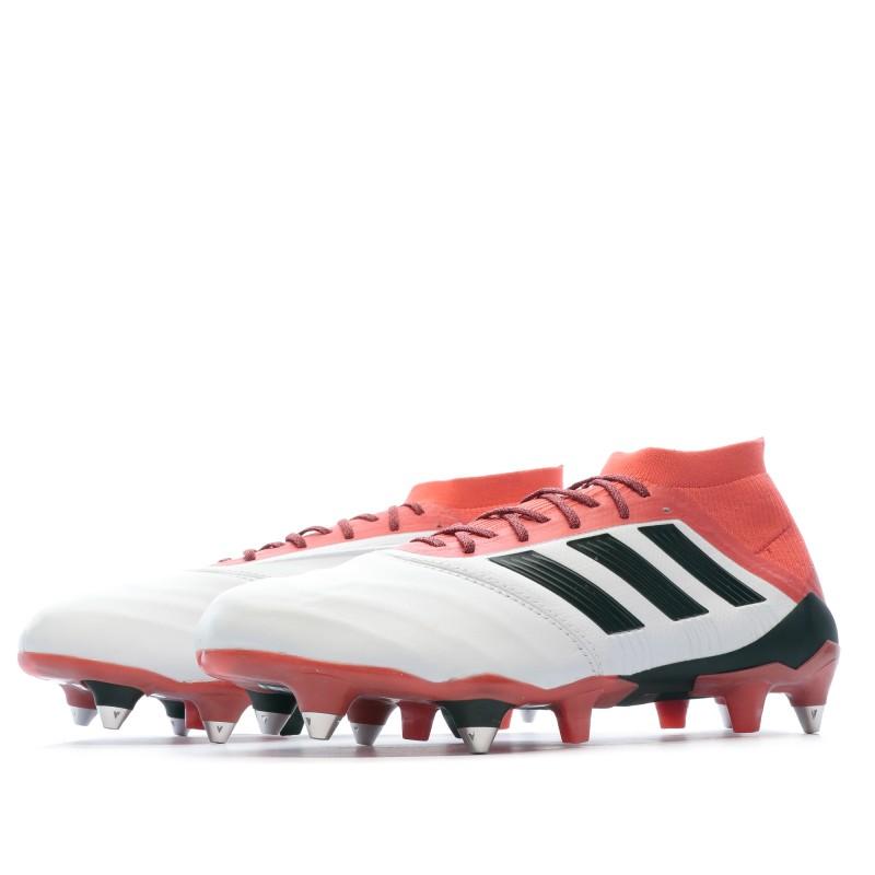 Adidas Predator 18.1 SG Chaussures football blanc | Espace des Marques