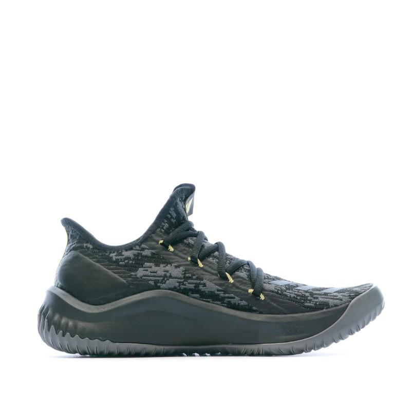 Chaussures de basket grises homme Adidas Dame DOLLA   Espace des Marques