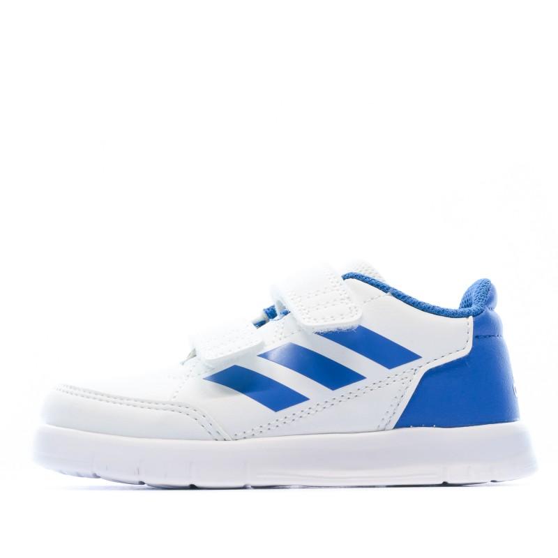 Altasport Baskets blanches bébé Adidas pas cher | Espace des