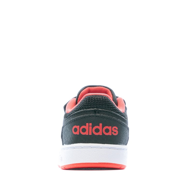 Chaussures noires bébé Adidas Hoops 2.0 pas cher | Espace