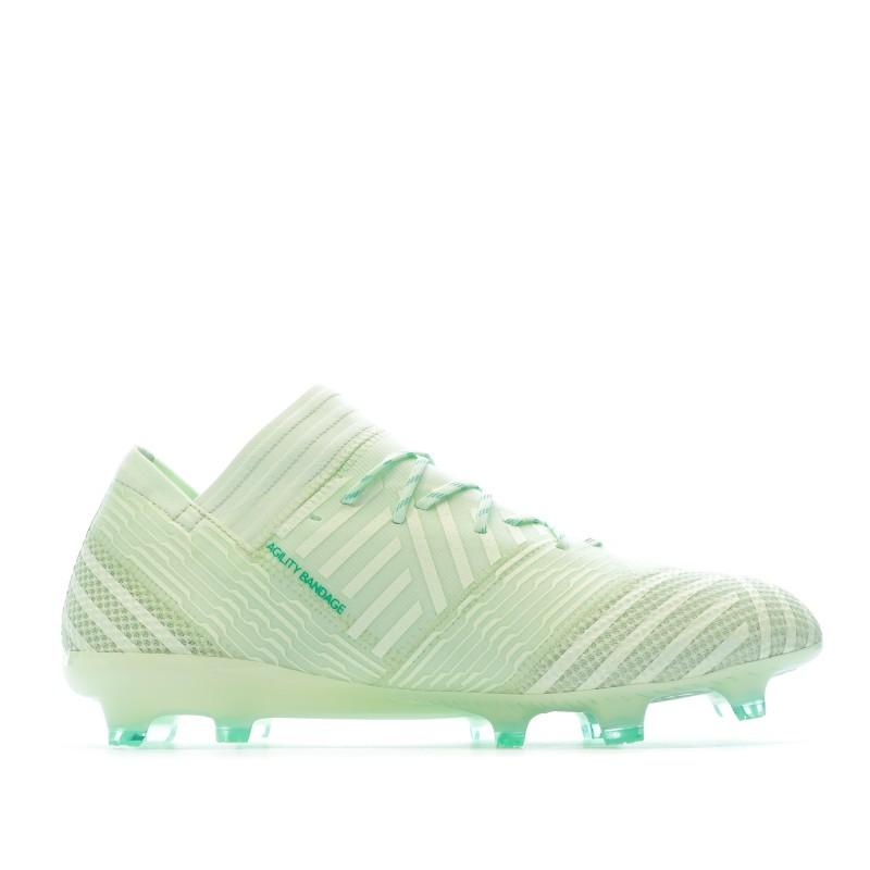 Adidas Nemeziz 17.1 FG Chaussures de foot vert | Espace des Marques