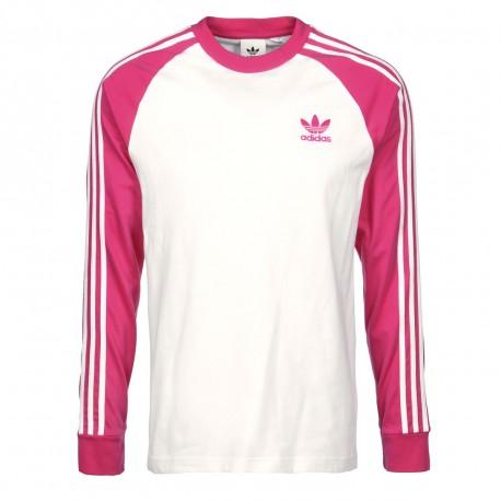 tee shirt femme adidas rose