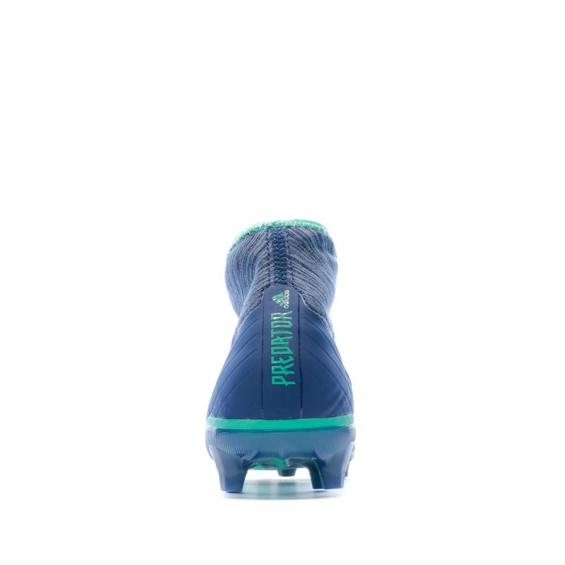 Adidas Predator 18.2 FG Chaussures de foot bleu | Espace des Marques