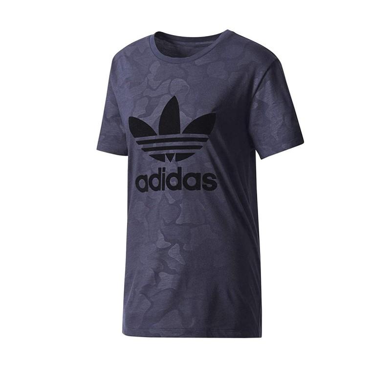 tee shirt adidas gris femme