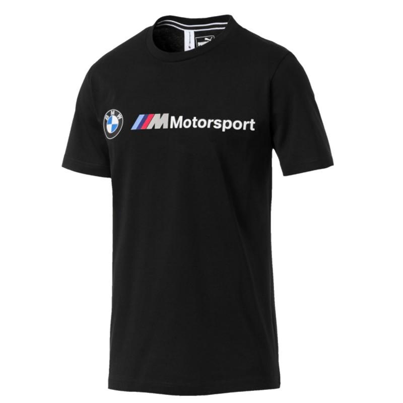 BMW Tee shirt noir homme Puma pas cher | Espace des