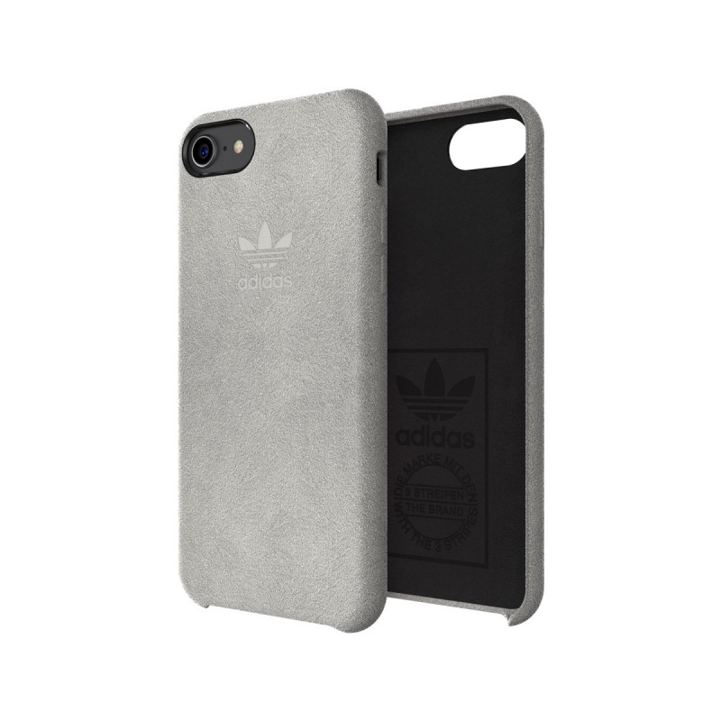 coque iphone 78 grise adidas ultrasuede slim