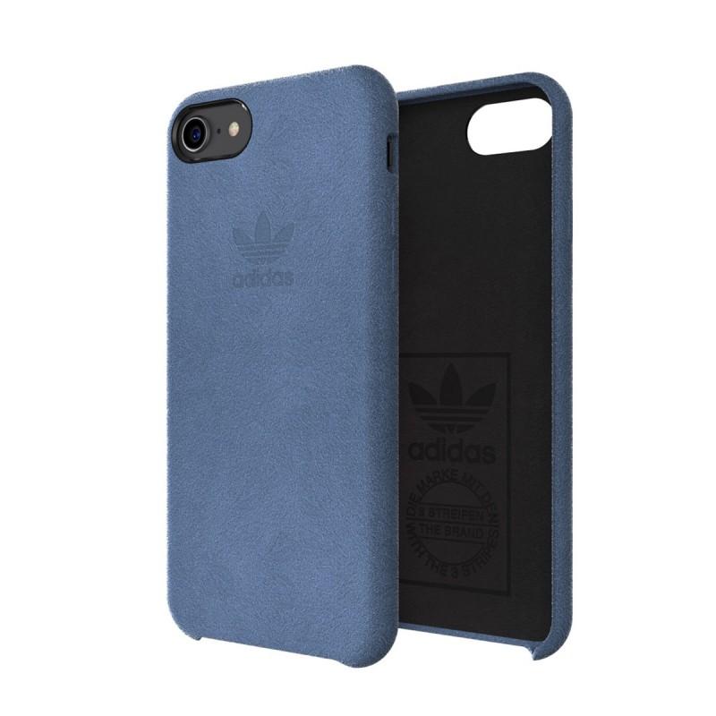 coque iphone 78 bleu adidas ultrasuede slim