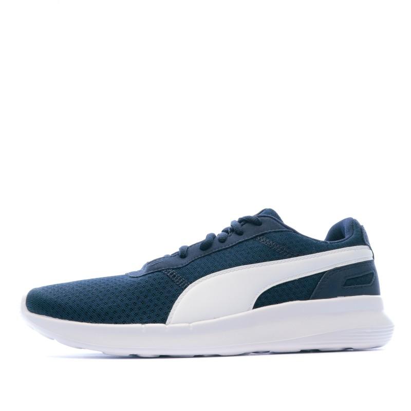 Pas Chaussures Homme De Bleu Sport CherEspace Marine Puma A54j3RL