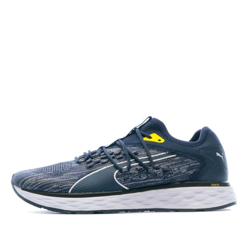 Chaussures de running marine homme Puma Speed   Espace des