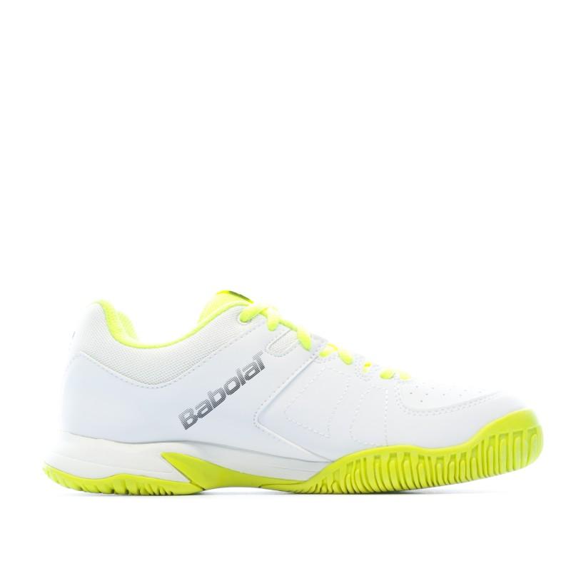 Chaussures Tennis Blanchejaune Enfant Babolat pas cher | Espace des Marques