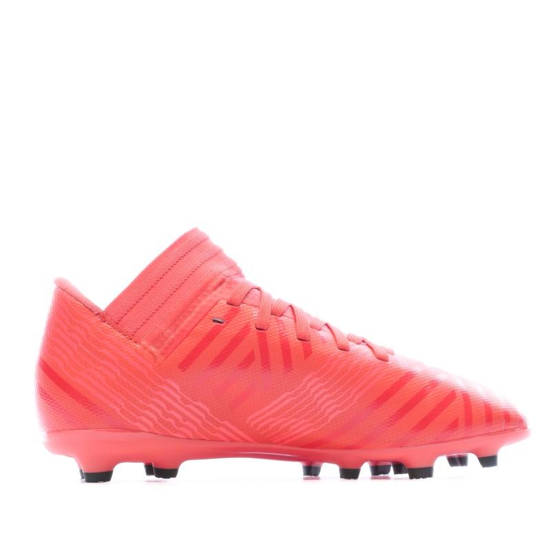 Nemeziz Chaussures Football Rouge Junior Adidas pas cher | Espace des Marques