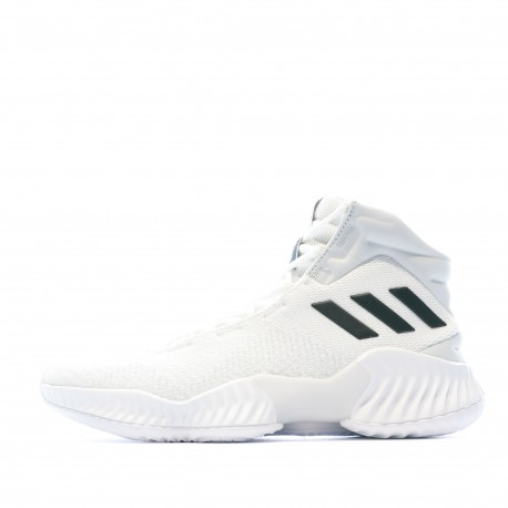 Pro Bounce chaussures de Basketball Blanche Homme Adidas pas cher