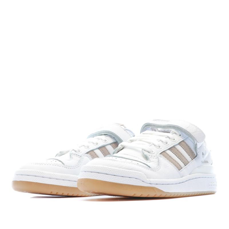 Forum LoW Blanc Chaussures Femme Adidas Originals pas cher | Espace des Marques
