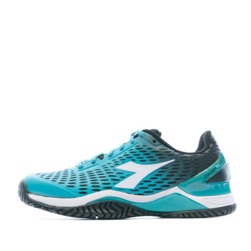 Chaussures de tennis bleu femme Diadora pas cher | Espace des Marques