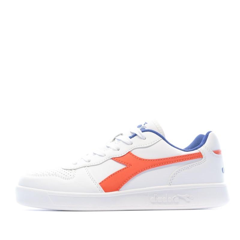 Sneakers Blanc Garçon Diadora Playground pas cher | Espace des Marques