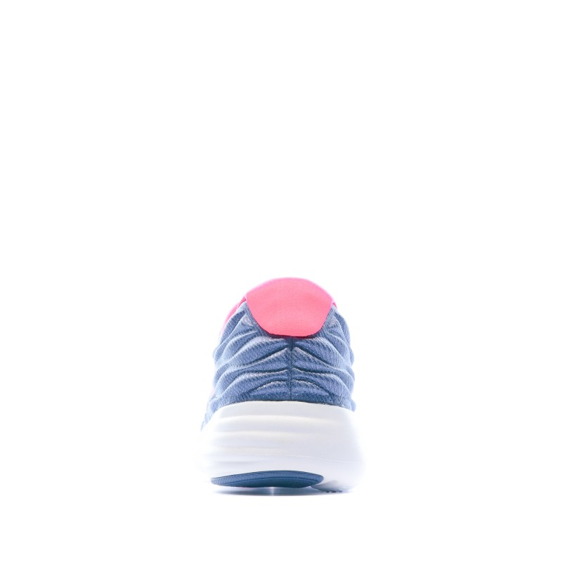 Basket Running Femme Bleu armure et rose Nike pas cher