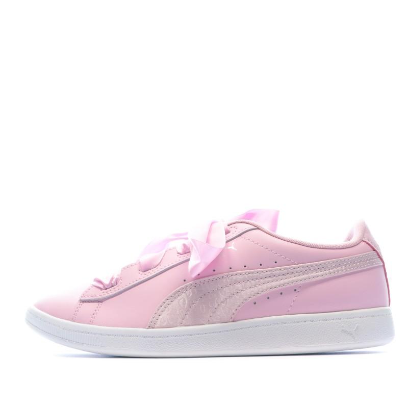 basket rose femme puma