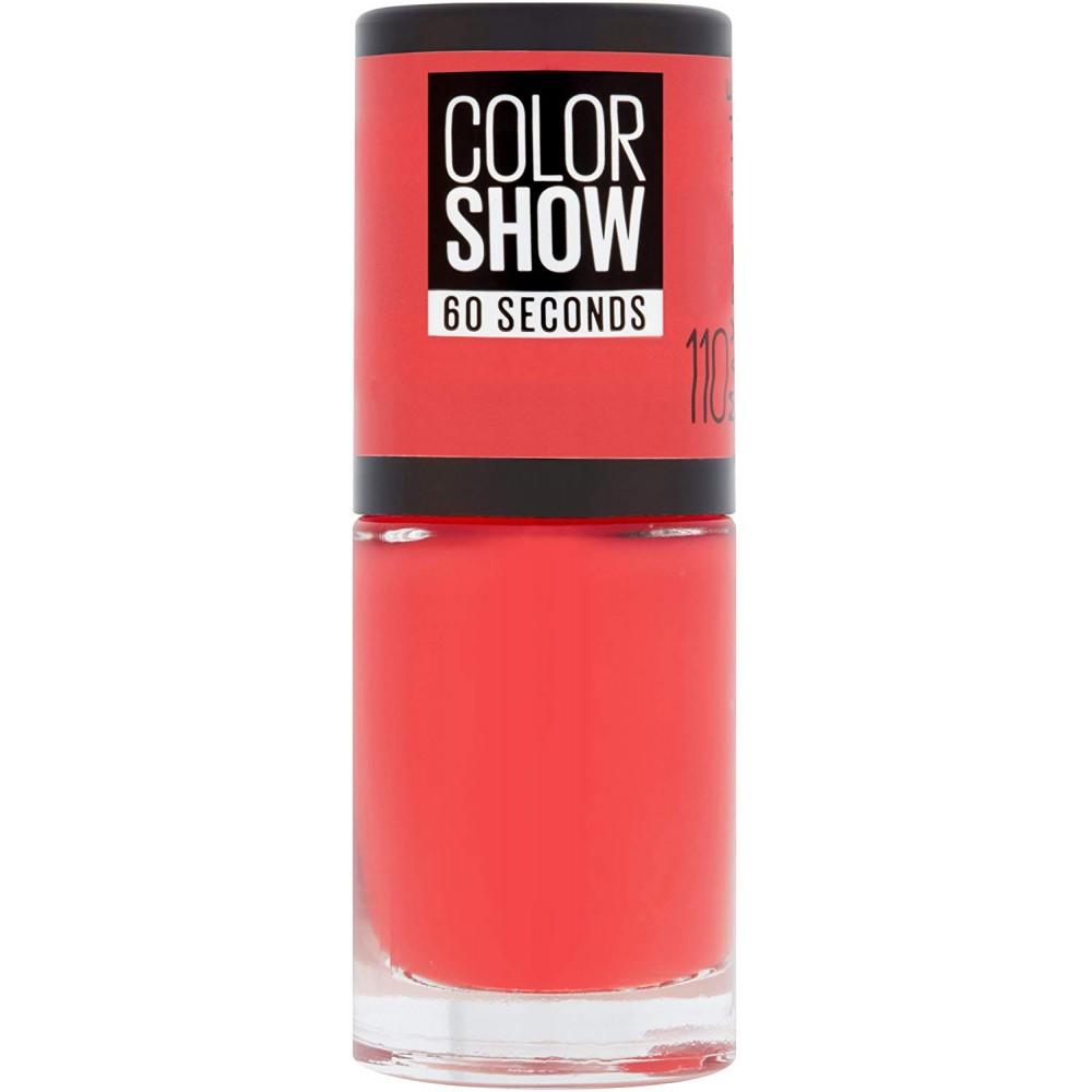 Vernis à ongles  Colorshow Maybelline New York 110 Urban coral pas cher