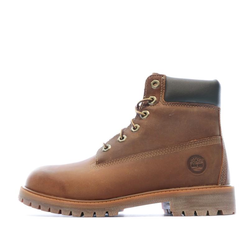 Boots Marron Femme Timberland pas cher | Espace des Marques