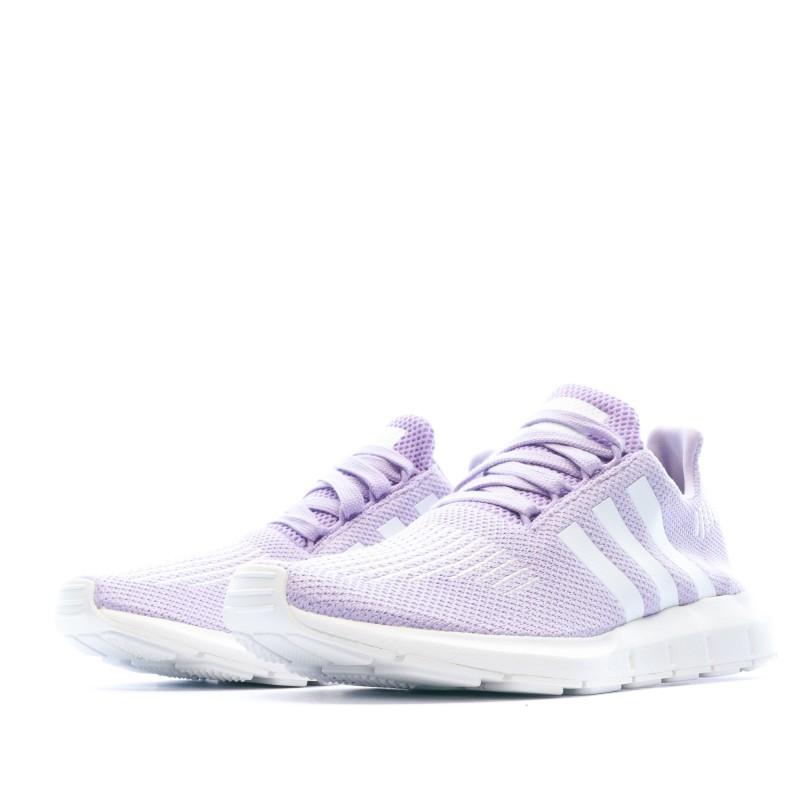 SWIFT RUN Baskets Violet Homme Adidas pas cher | Espace des