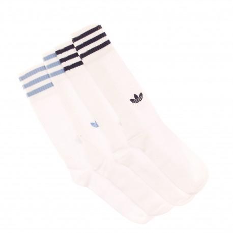 Pack de 2 Chaussettes Blanches Adidas pas cher   Espace des Marques