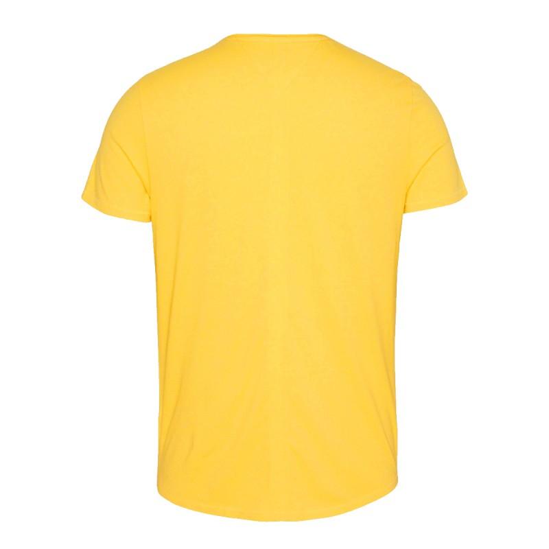 t shirt jaune homme pas cher