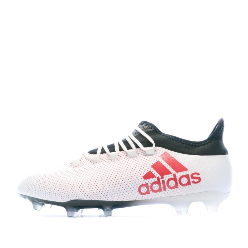 Achat Chaussures de foot Adidas X 17.2 blanc FG | Espace des Marques
