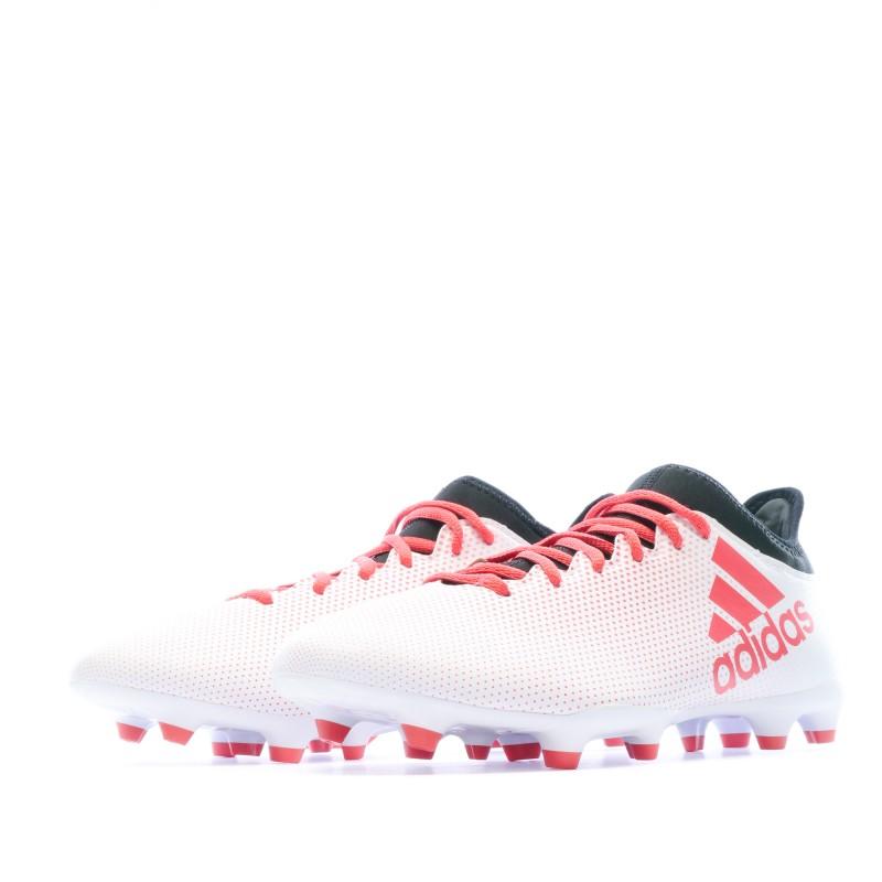 Achat Chaussures de foot Adidas X 17.3 blanc FG | Espace des Marques
