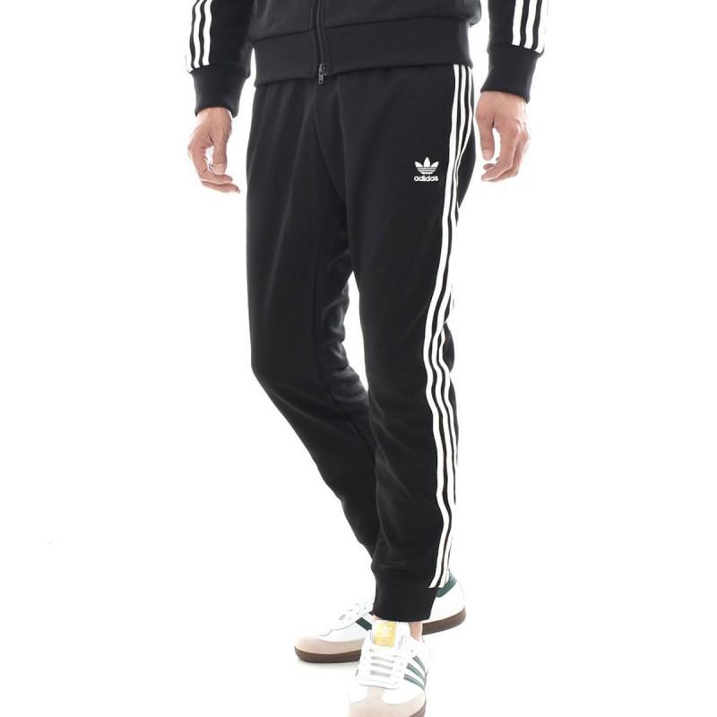 jogging noir homme adidas