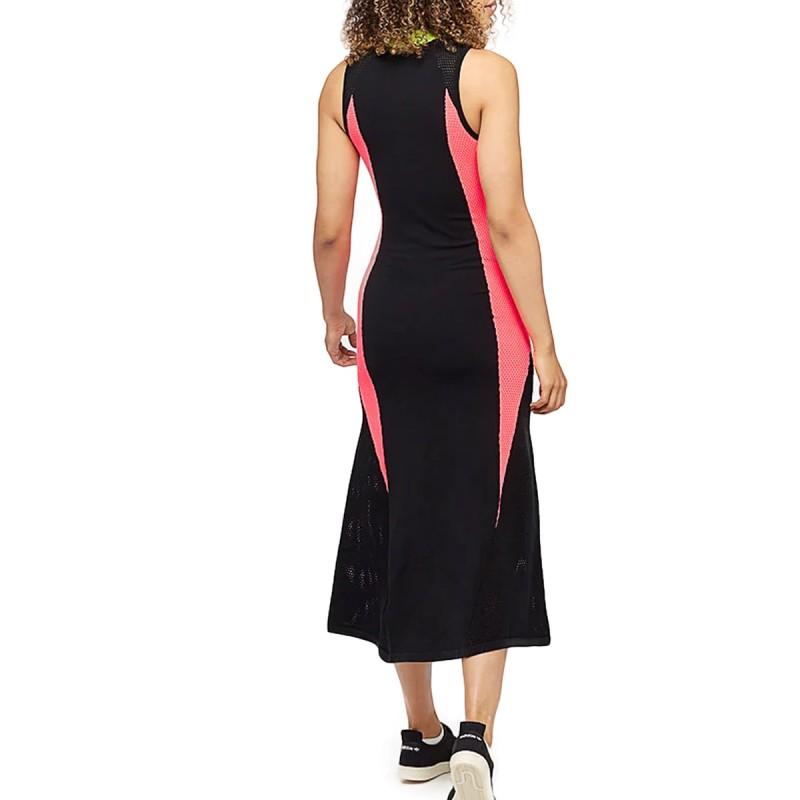 Robe noire femme Adidas AA 42 KNIT pas cher   Espace des Marques