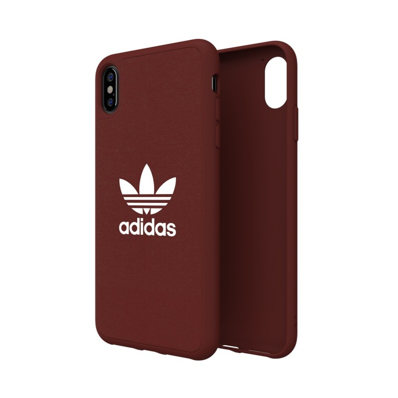 coque iphone 65 bordeaux adidas trefoil
