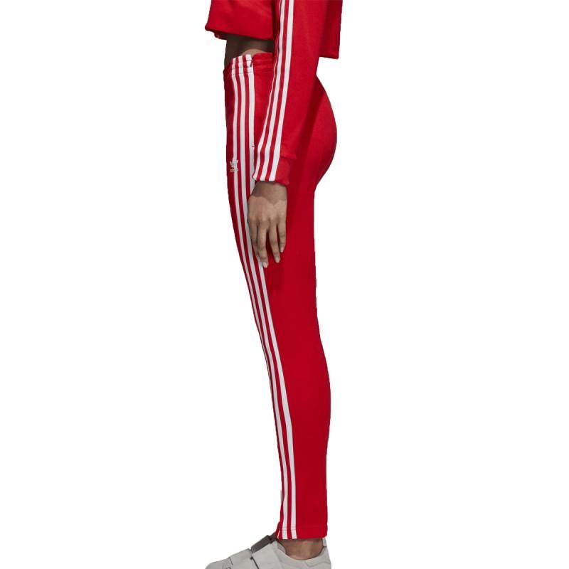 pantalon adidas rouge femme