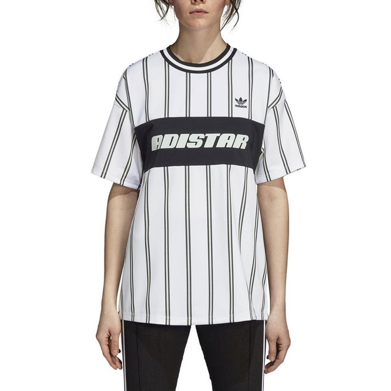 tee shirt femme adidas blanc