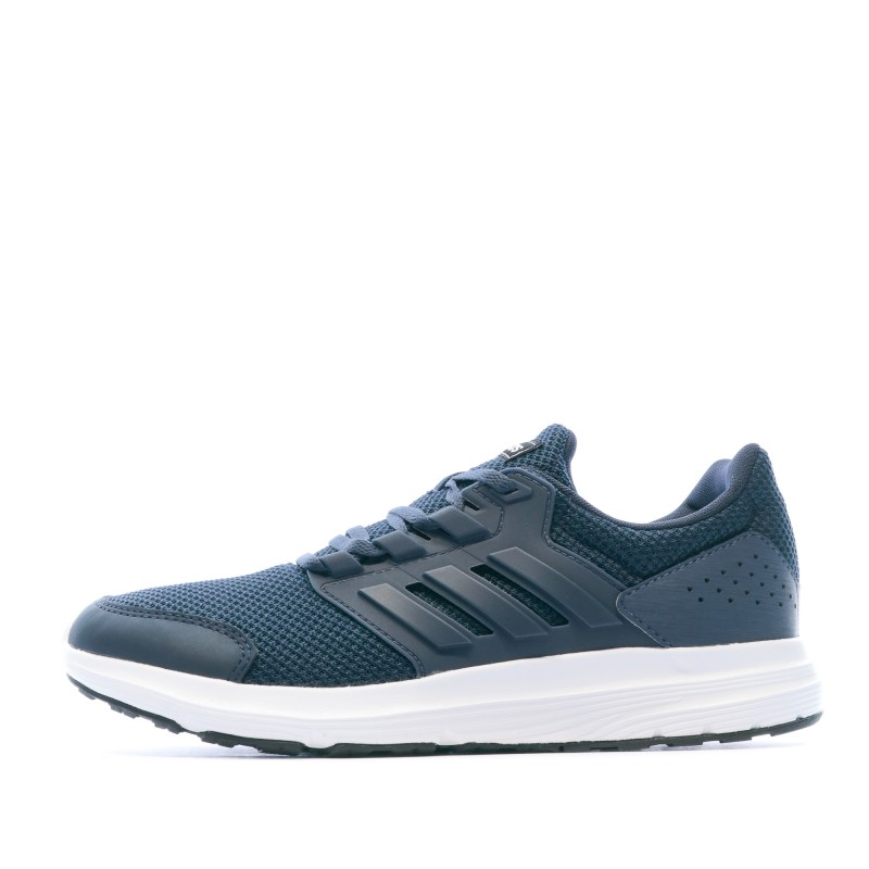 Chaussures de running bleues homme Adidas Galaxy 4| Espace des Marques